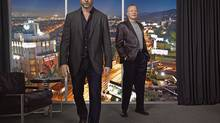 Liev Schreiber and Jon Voight in Ray Donovan. Voight is magnificent in this.