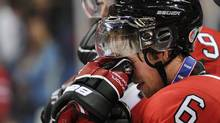 Team Canada captain Ryan Ellis reacts after losing to Team Russia in the IIHF World Junior Championship gold medal final in Buffalo, N.Y. on Wednesday (Nathan Denette/The Canadian Press)