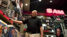 Spencer Destun has owned Sam the Record Man in Belleville, Ont. since 1979.