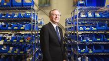 Michael G. Biskey, president of Express Scripts Canada, is photographed in his Toronto pharmacy on October 6, 2016. (JENNIFER ROBERTS For The Globe and Mail)