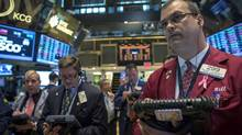 Worries about the debt ceiling deadline sent tech stocks tumbling yesterday. (BRENDAN MCDERMID/REUTERS)