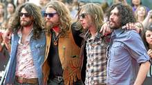 The Sheepdogs on the red carpet during the 2011 MuchMusic Video Awards in Toronto on Sunday, June 19, 2011. (Darren Calabrese/CP)