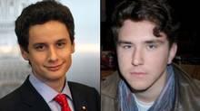Zach Paikin (left) and Jonathan Scott (right)
