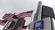GM headquarters in Detroit. (Paul Sancya/Paul Sancya/Associated Press)