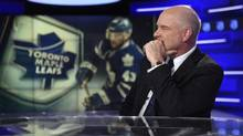 Scott Moore, President, Sportsnet and NHL Properties, Rogers is pictured during an interview at Rogers Sportsnet's new NHL broadcast studio in Toronto. (Fred Lum/The Globe and Mail)