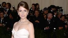 "Anna Kendrick attends The Metropolitan Museum of Art's Costume Institute benefit gala celebrating ""Charles James: Beyond Fashion"" on Monday, May 5, 2014, in New York. (Evan Agostini/Invision/AP)"