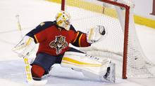 'Twenty minutes of three-on-three, with only nine players is going to be tough,' said Florida Panthers goalie Roberto Luongo of the all-star game's new format. 'I'm not sure what kind of intensity there's going to be.' (Wilfredo Lee/AP Photo)