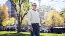 Dave Harvey, the founder and executive director at Toronto's Park People organization. (Jennifer Roberts/The Globe and Mail)