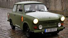 The Trabant's East German background gives it a clear advantage in its bid for the Worst Car of All Time title. (MICHAEL GOTTSCHALK/AFP/Getty Images)