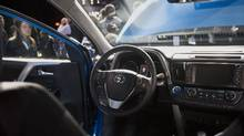 The RAV4, produced at Toyota's plant in Woodstock, Ont. (Michael Nagle/Bloomberg)