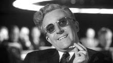 The late Peter Sellers in Dr. Strangelove or: How I Learned to Stop Worrying and Love the Bomb.
