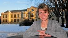 Anne Kelly, a student at the University of Saskatchewan in Saskatoon, is one of 11 new Canadian scholars to attend Oxford in 2012 on a Rhodes scholarship. (Glen Berger/Glen Berger)