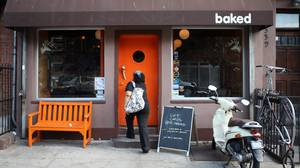 Baked, a stylish bakery, serves house-made granola and marshmallows.