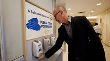 'It took us four years to get our hand hygiene where it is today,' says Dr. Michael Gardam, director of infection prevention and control with the University Health Network. (Deborah Baic/The Globe and Mail)