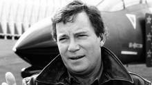 William Shatner is narrator for TOP FLIGHT, a one-hour special celebrating the 40th anniversary of the United States Air Force, to be broadcast Oct. 27, 1987. (CBS)