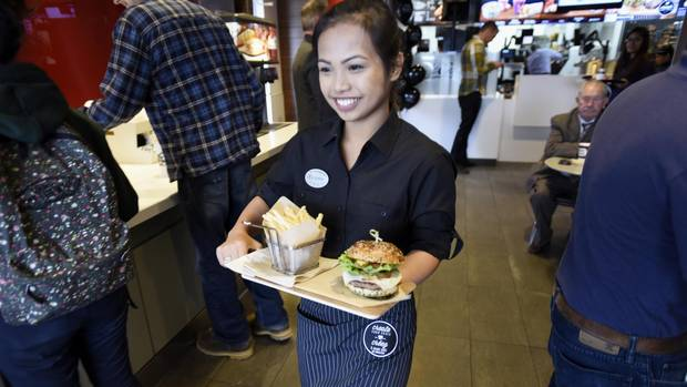 McDonald's Rolls Out Upscale Options