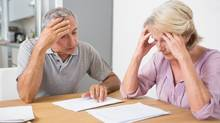 Retired couple worry about money (thinkstock.com)