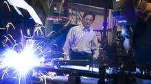 Kam Ko, president of Kobotic Ltd. is photographed at his robotics, welding fixturing and manufacturing facility in Richmond Hill, Ont. on July 28, 2011. In addition to the robotics and welding business he has also designed a chair for dentists to reduce strain. (Kevin Van Paassen/The Globe and Mail/Kevin Van Paassen/The Globe and Mail)