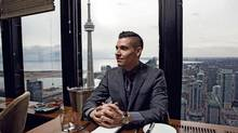 The vistas from Canoe restaurant in Toronto's TD Bank Tower are among the best in the city but they're not enough alone to keep customers coming back, says general manager Lee Jackson. 'The food and the service are absolutely paramount to business here,' he says. (JENNIFER ROBERTS FOR THE GLOBE AND MAIL)