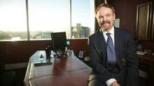 David Taylor, president and chief executive officer of Pacific & Western Bank of Canada, had a vision of setting up a bank based on personal computers. (GEOFF ROBINS FOR The Globe and Mail)