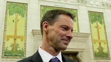 Nigel Wright, chief of staff for Prime Minister Stephen Harper, gave Conservative Senator Mike Duffy $90,000 so he could repay improper expense claims. (Sean Kilpatrick/THE CANADIAN PRESS)