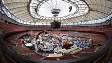 The PlayDome indoor carnival at BC Place stadium in Vancouver on March 21, 2013. (Darryl Dyck for The Globe and Mail)