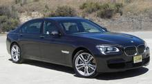 2013 BMW 7-Series (Ted Laturnus for The Globe and Mail)