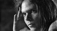Neil Young at Massey Hall in Toronto, 1971