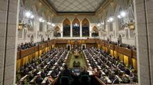 The chamber of the House of Commons is seen during Question Period on Wednesday, March 27, 2013 in Ottawa. (Adrian Wyld/THE CANADIAN PRESS)