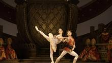 Jillian Vanstone and Skylar Campbell are well matched in this year's production of the National Ballet's The Nutcracker. (Aleksandar Antonijevic)