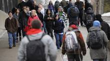 Canadian university students. (Fred Lum/The Globe and Mail)