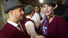 Rouge flight attendants will focus on individualized interactions with customers. (Kevin Van Paassen/The Globe and Mail)