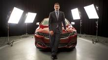 Impala chief engineer Todd Pawlik focused on costs for the 2014 Impala. (Moe Doiron/The Globe and Mail)