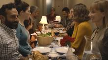 Loblaw has launched a new video, which tells the story of a group of neighbours from different backgrounds who come together for an impromptu meal in the hallway between their apartments. (Loblaws)