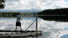 Chiefs from the Tsilhqot'in Nation of B.C. have long opposed the the Taseko open pit mine, and have met with MPs in Ottawa in hopes of halting the project, which would discharge toxic waste into Fish Lake. (Sibylle Zilker)