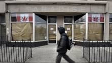The part owners of the GoodWeeds shop were charged with possession of marijuana and cannabis resin for the purpose of trafficking, and possession of proceeds of crime, police said. (Fred Lum/The Globe and Mail)