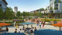 Rendering, Blatchford, Edmonton. (City of Edmonton)