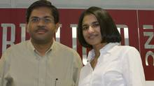 Replicon's husband and wife founders, Raj Narayanaswamy and Lakshmi Raj (KEN CHAN)