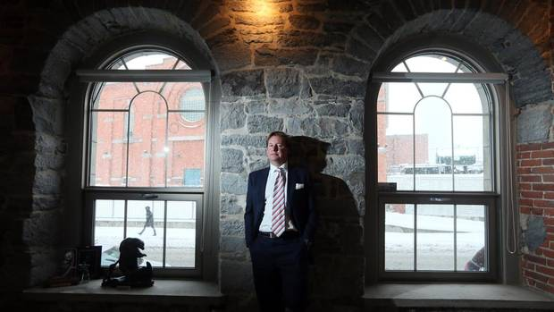 Eric Boyko, president and CEO of Stingray Digital Group, poses in their offices in Montreal, March 19, 2013. (Christinne Muschi/The Globe and Mail)