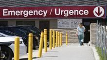 St. Boniface Hospital in Winnipeg is seen on July 12, 2017. (JOHN WOODS/THE CANADIAN PRESS)
