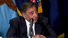 """U.S. Secretary of Defense Leon Panetta warns Syria not to make the """"terrible mistake"""" of using chemical weapons on its people."""