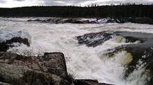 File photo of Muskrat Falls at the Churchill River in central Labrador. (Greg Locke/Reuters)