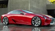 Lexus LF-LC concept (Toyota/Toyota)