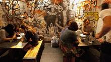 La Carnita restaurant at 501 College St. in Toronto on July 19, 2012. (Deborah Baic/The Globe and Mail)