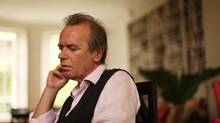 British author Martin Amis in London. (Randy Quan For The Globe and Mail)