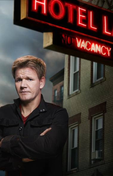 REALITY. Hotel Hell, Fox, Global, 8 p.m. ET/PT. The North American viewing public continues to feast on the beast that is Gordon Ramsay. The blustery Brit chef already has two popular food-themed programs – Hell's Kitchen and MasterChef – on the Fox Network lineup, but he moves into strange territory in this new series. Adhering more closely to the format of Kitchen Nightmares, the show features the mad chef and his team of hospitality experts performing rescue missions for hotels on the verge of folding. In tonight's opener, they roll into Windsor, Vt., to check into the Juniper Hill Inn. The Juniper has undeniable rustic New England charm, but the staff is wildly disorganized and the place smells like sewage.
