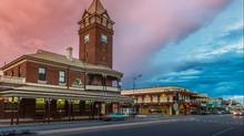 Broken Hill Post Office at twilight, New South Wales, Australia. (iStock)