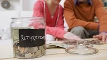 Retirement savings jar (Thinkstock/(C) 2007 Thinkstock)