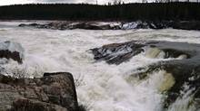 Muskrat Falls is seen at the Churchill River in central Labrador in this undated file photograph. (REUTERS/GREG LOCKE/REUTERS/GREG LOCKE)