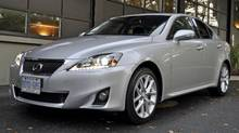2011 Lexus IS 350 AWD (Michael Bettencourt for The Globe and Mail)